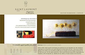 Site web de Saint Laurent